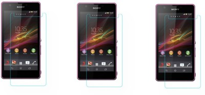 ACM Tempered Glass Guard for Sony Xperia Zr(Pack of 3)