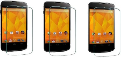 ACM Tempered Glass Guard for Lg Google Nexus 4 E960 (Pack of 3)(Pack of 3)