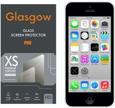 AmericHome Tempered Glass Guard for Apple iPhone 5 C