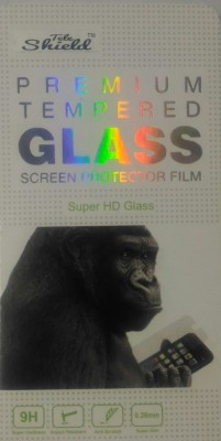 BLACK GORILLA Tempered Glass Guard for MICROMAX CANVAS PLAY Q355