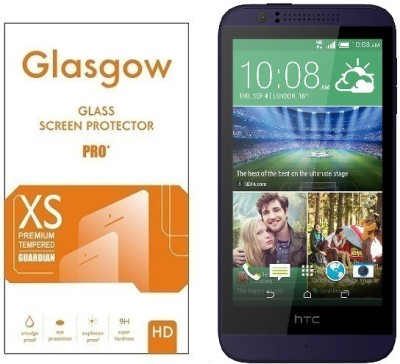 Glasgow Tempered Glass Guard for HTC Desire 510(Pack of 1)