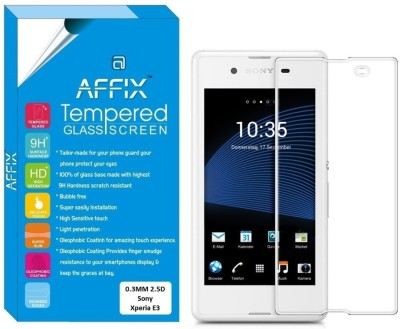 """Affix Tempered Glass Guard for Sony Xperia E3 (4.5\"""" Inch Display)"""