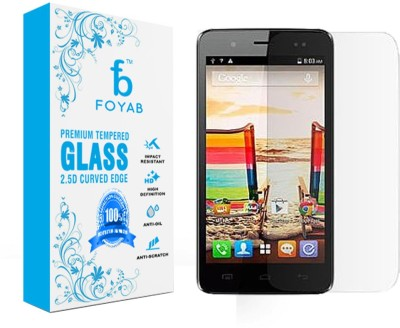 Foyab Tempered Glass Guard for Micromax Bolt A069