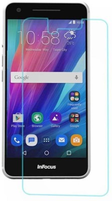 S-Softline Tempered Glass Guard for Reliance Jio Lyf Flame 4(Pack of 1)