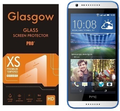 Glasgow Tempered Glass Guard for HTC Desire 620(Pack of 1)
