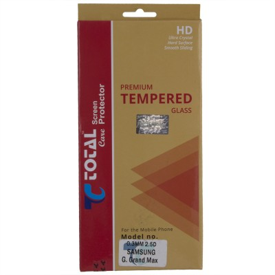 Total Care Tempered Glass Guard for Samsung Galaxy Grand Max(Pack of 1)