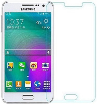 EXOIC81 Tempered Glass Guard for Samsung Galaxy A3(Pack of 1)