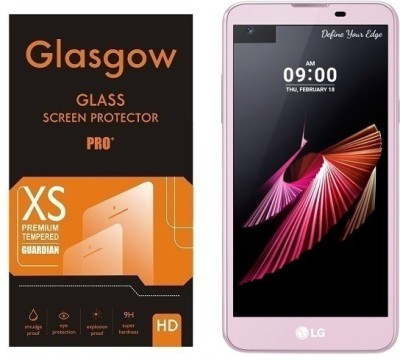 Glasgow Tempered Glass Guard for LG X Screen(Pack of 1)