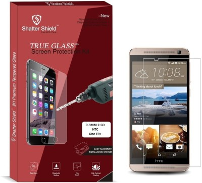 """Shatter Shield Tempered Glass Guard for HTC One E9+ (5.5\"""" Inch Display)"""
