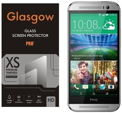 AmericHome Tempered Glass Guard for Htc one (m8)