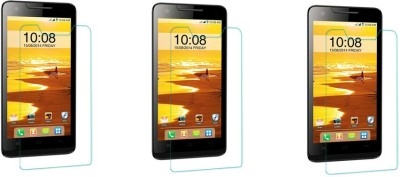 Exclusivebay Tempered Glass Guard for Intex Aqua Amaze(Pack of 1)