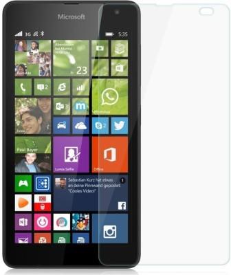 MOBIVIILE Tempered Glass Guard for Microsoft Lumia 535 /Microsoft Lumia 535 Dual SIM(Pack of 1)
