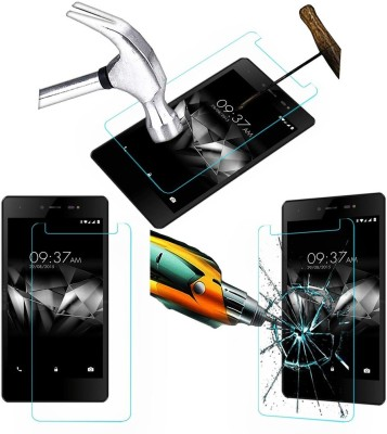 Khushal Tempered Glass Guard for Micromax Bharat 5 Pro {Flexible} Tempered Glass Guard(Pack of 1)