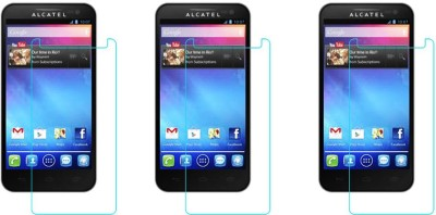 ACM Tempered Glass Guard for Alcatel One Touch Sapphire 2(Pack of 3) Flipkart