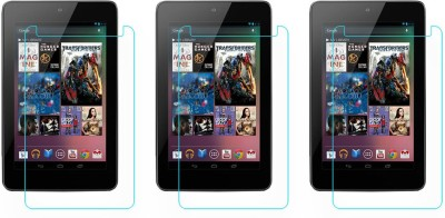 ACM Tempered Glass Guard for Asus Google Nexus 7 1st Gen 2012, (Pack of 3)