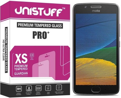 Unistuff Tempered Glass Guard for Motorola Moto G5 Plus(Pack of 1)