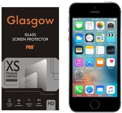 Glasgow Tempered Glass Guard for Apple iPhone SE(Pack of 1)