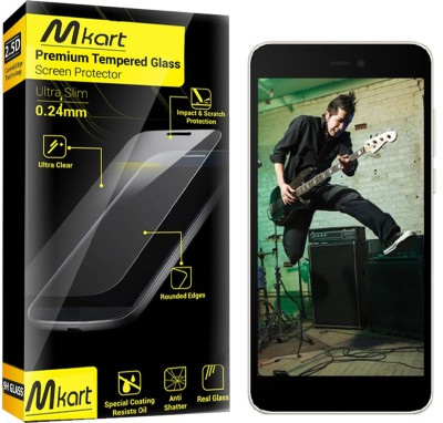 Bcube Products Tempered Glass Guard for MicromaxCanvas SparkQ380