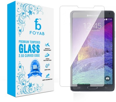 Foyab Tempered Glass Guard for SAMSUNG Galaxy Note 4