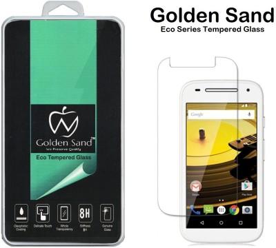 Golden Sand Tempered Glass Guard for Motorola Moto E (2nd Gen) 4G