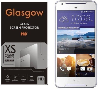 Glasgow Tempered Glass Guard for HTC Desire 620G(Pack of 1)