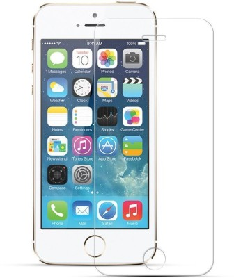 Heartly Tempered Glass Guard for Apple iPhone 5C(Pack of 1)