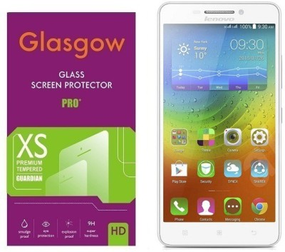 Glasgow Tempered Glass Guard for Lenovo A5000(Pack of 1)