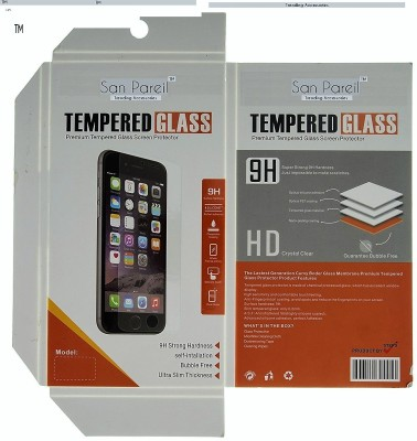 San Pareil Tempered Glass Guard for Lenovo A6000(Pack of 1)