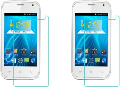 ACM Tempered Glass Guard for Spice Smart Flo Ivory 2 Mi-423(Pack of 2)