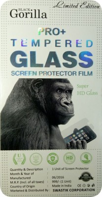 BLACK GORILLA Tempered Glass Guard for Samsung Galaxy Mega 2 G750h