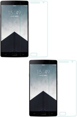 Mudshi Tempered Glass Guard for Oneplus 2(Pack of 2)