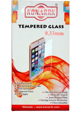 KONARRK Tempered Glass Guard for Micromax Canvas 2 Colours A120(Pack of 1)