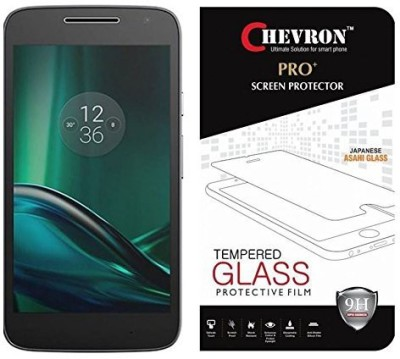 Chevron Tempered Glass Guard for Motorola Moto G Play 4th Gen (Motorola Moto G4 Play)(Pack of 1)