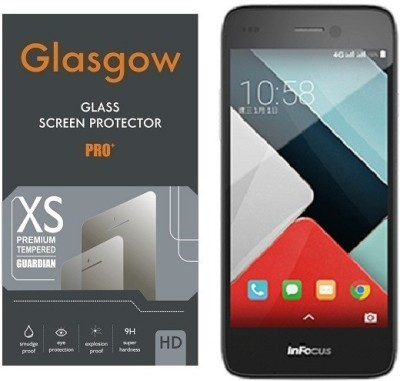 Glasgow Tempered Glass Guard for InFocus M350(Pack of 1)