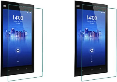 ACM Tempered Glass Guard for Xiaomi Mi3 (Pack Of 2)(Pack of 2)