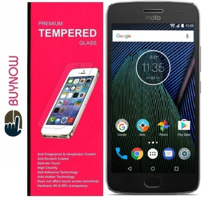 Buynow Tempered Glass Guard for Motorola Moto G5 Plus(Pack of 1)