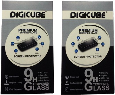 Digicube Tempered Glass Guard for Yu YUREKA PLUS(Pack of 2)