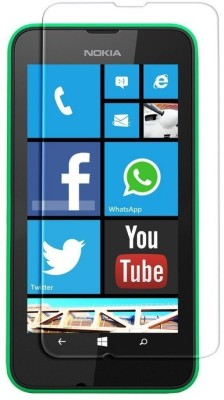 MOBIVIILE Tempered Glass Guard for Nokia Lumia 530 / Nokia Lumia 530 Dual SIM(Pack of 1)