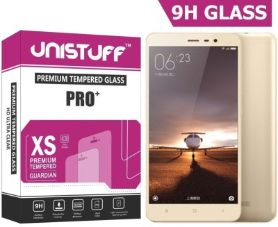 Unistuff Tempered Glass Guard for Xiaomi Redmi Note 3 Prime, Mi Redmi Note 3 Pro, Mi Redmi Note 3