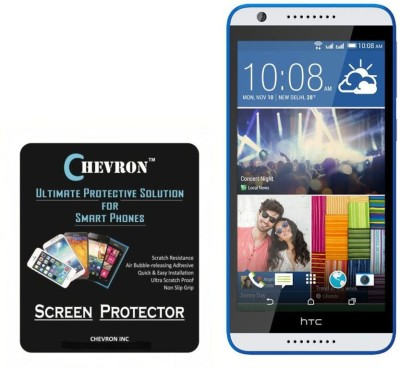 Chevron Screen Guard for HTC Desire 820S(Pack of 3)