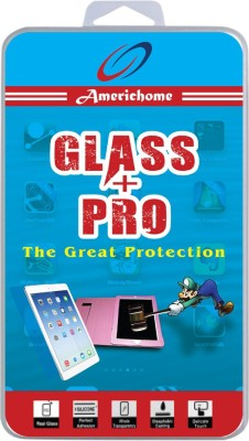 AmericHome Tempered Glass Guard for Micromax Canvas 106(Pack of 1)