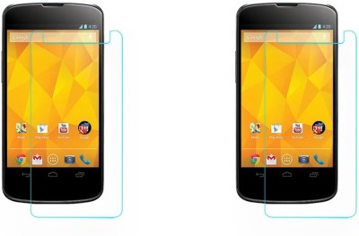 ACM Tempered Glass Guard for Lg Google Nexus 4 E960(Pack of 2)