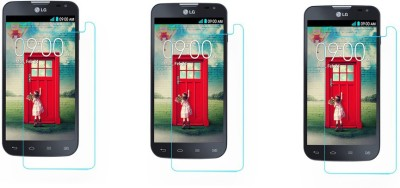 Heartly Tempered Glass Guard for LG L90 D410 Dual Sim