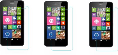 Mocell Tempered Glass Guard for Nokia Lumia 630(Pack of 4)