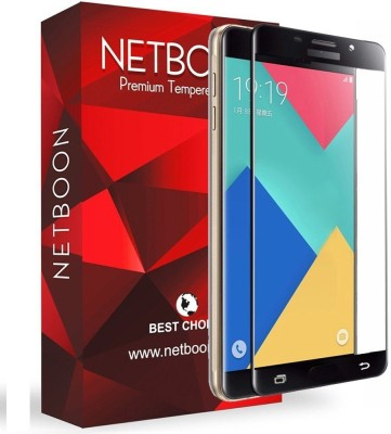 Netboon Tempered Glass Guard for Samsung Galaxy A9/Samsung Galaxy A9 Pro(Pack of 1)