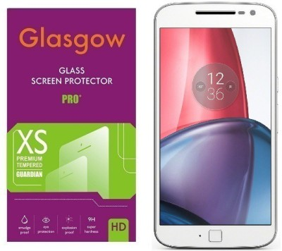 Glasgow Tempered Glass Guard for Motorola Moto G (4th Generation) Plus(Pack of 1)