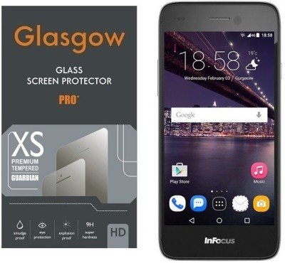 Ridhaniyaa Tempered Glass Guard for InFocus M350