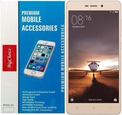 BigChoice Tempered Glass Guard for Xiaomi Redmi 3S Prime (5 inch) Flipkart