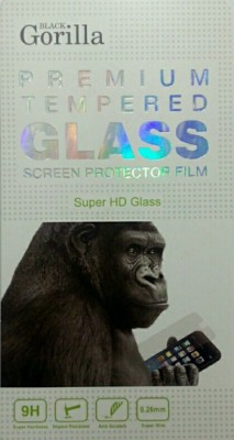 BLACK GORILLA Tempered Glass Guard for MICROMAX CANVAS HD PLUS A190(Pack of 1)