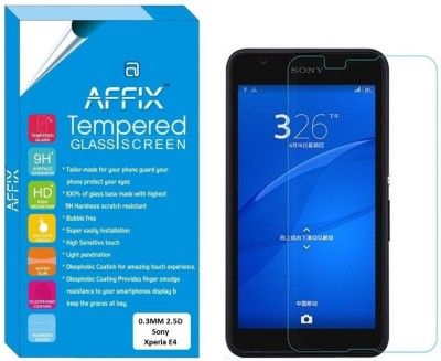 Glasgow Tempered Glass Guard for Sony Xperia E4(Pack of 1)